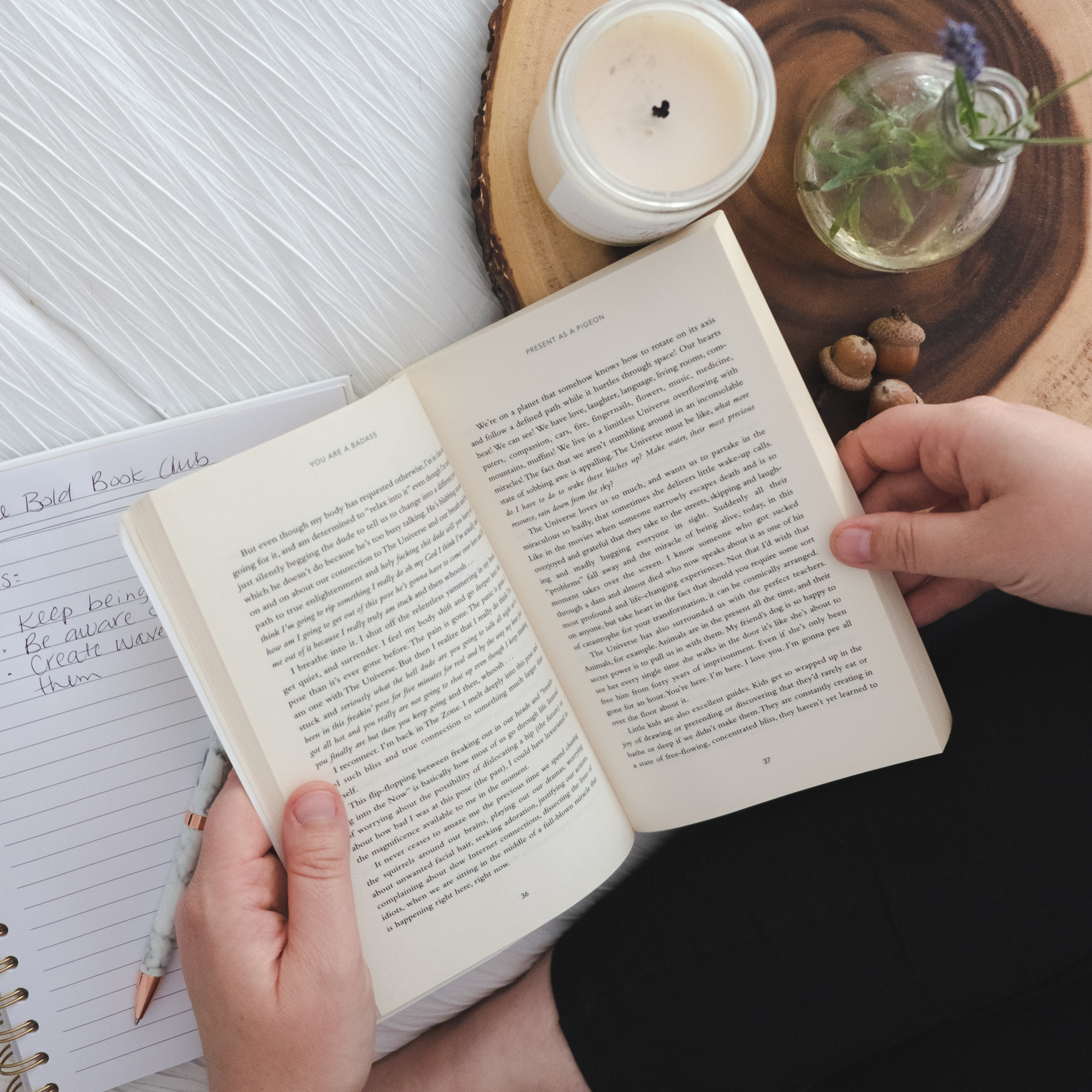 Novel and Notebook